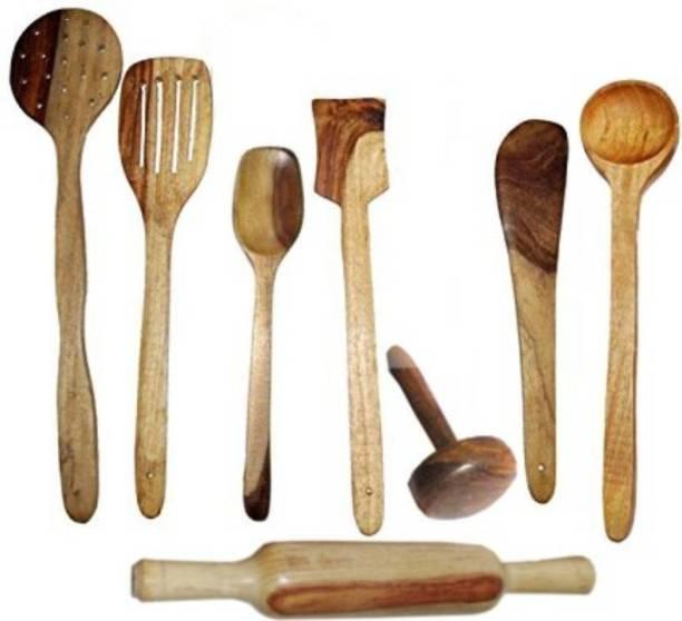 AK Handicrafts Wood Ladle