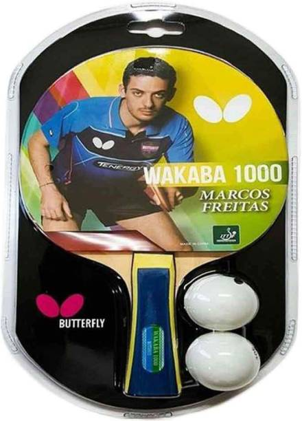 Butterfly wakaba 1000 ( with 2 balls ) Multicolor Table Tennis Racquet