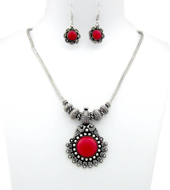 226a142808aad Silver Necklace - Buy Silver Necklace online at Best Prices in India ...