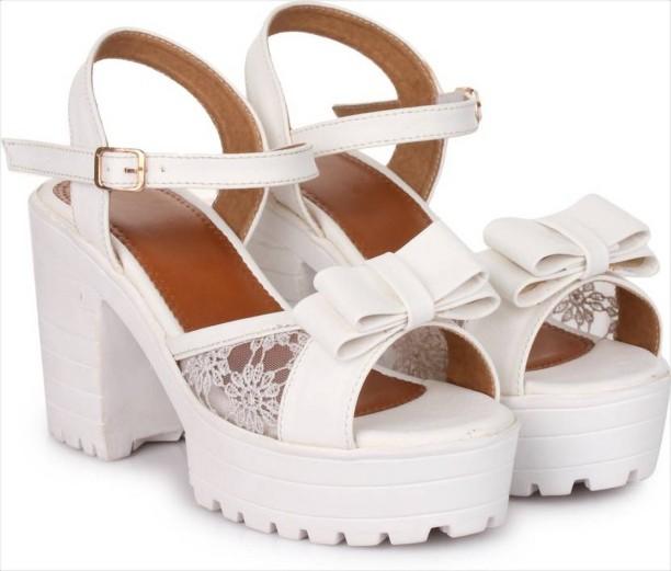 White Heels - Buy White Heels Online at