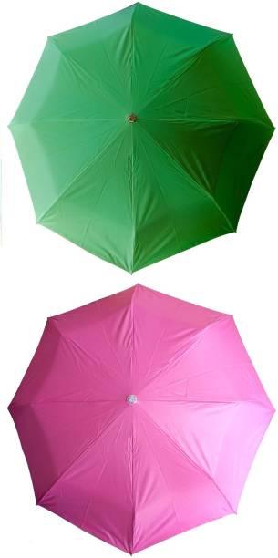 bd6452f872ba0 ShopTop 3 Fold Set of 2 color Office umbrella for Men and Women Umbrella