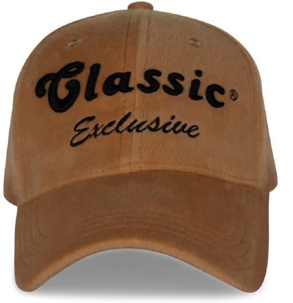 7e79685363b HANDCUFFS Stylish Velvet Baseball Adjustable Navy Brown Cap For Men Women  Cap