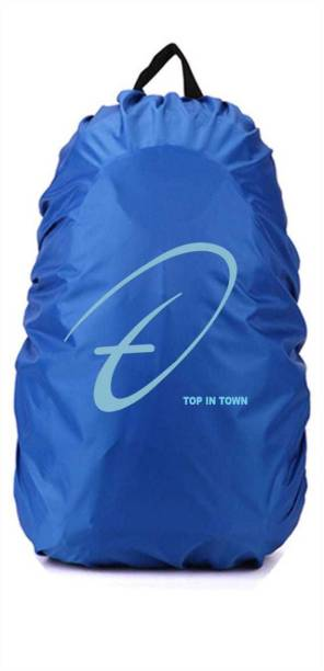 Trendmakerz Top In Town Nylon Blue Bag Cover Dust Proof, Waterproof Laptop Bag Cover, Trekking Bag Cover
