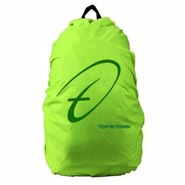 Inventure Retail Multipurpose Nylon Green Bag Cover with Pouch Dust Proof, Waterproof Laptop Bag Cover, School Bag Cover