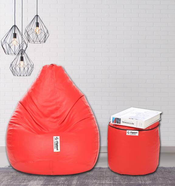 Flipkart SmartBuy XXXL Classic Stylish Teardrop Bean Bag  With Bean Filling
