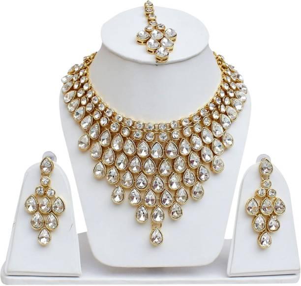 21b19e3d55 Kundan Jewellery Sets - Buy Kundan Jewellery Sets Online at Best ...