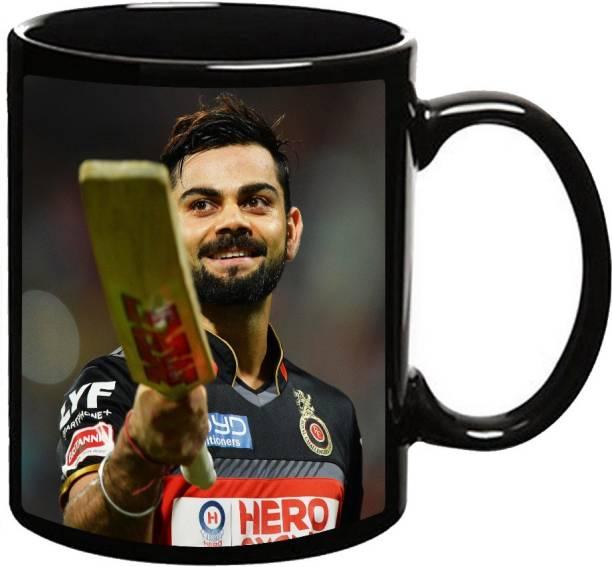 MUGKIN Virat Kohli 2 Ceramic Coffee Mug