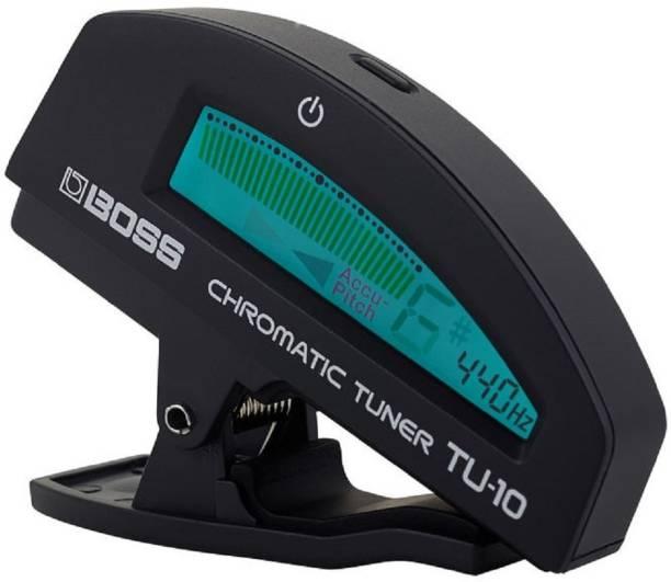 BOSS TU 10 BK Manual Digital Tuner