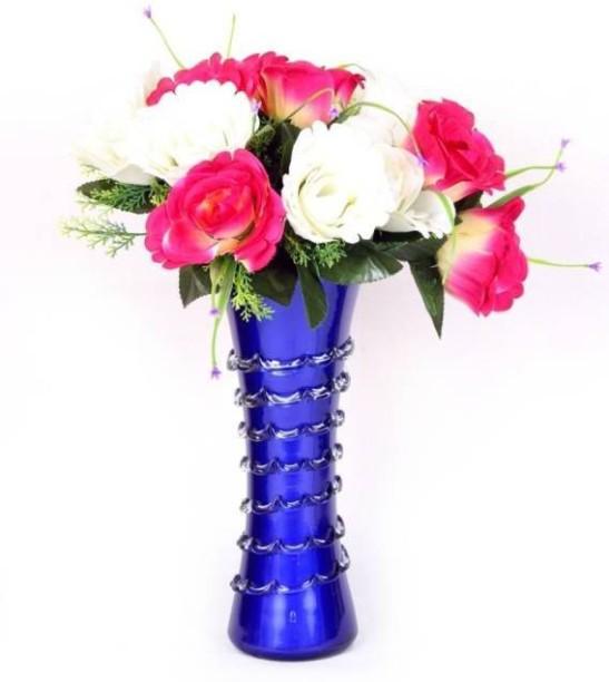 Afast Designer Hand Decorative Glass Table Top Flower Pot Vase In New Shape Art -H10  sc 1 st  Flipkart & Vases - Buy Vases Online at Best Prices In India | Flipkart.com