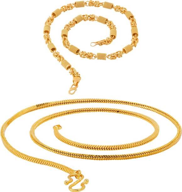 855c51a85 Fashion Frill Trendy Fancy Classic Rollo With Twist Heavy & Thin Snake Men  Women Rhodium,