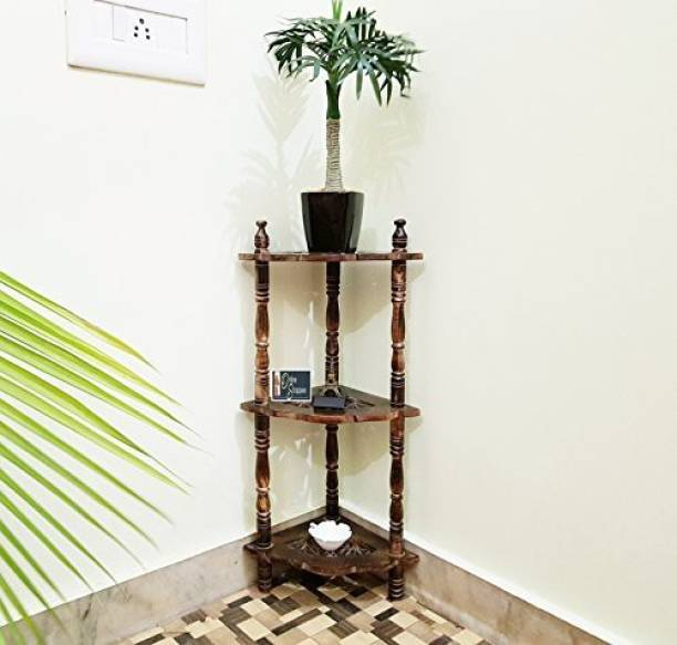 Onlineshoppee home décor corner Wooden Wall Shelf