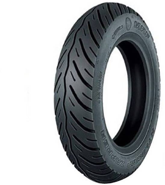MRF Nylogrip 120/70-14 Zapper Tubeless Tyre, Front & Rear 120/70-14 Front & Rear Tyre