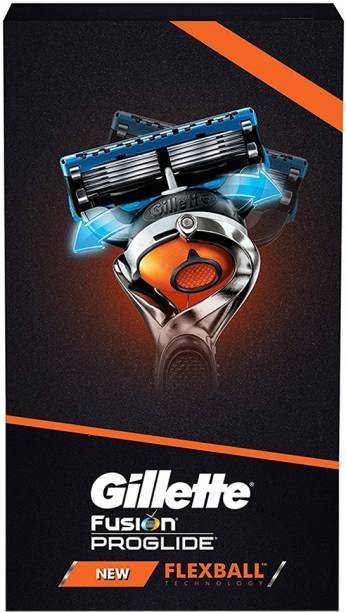 GILLETTE Fusion Proglide Flex Ball Razor Combo