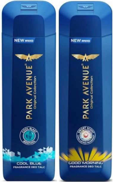 PARK AVENUE 1 Cool Blue & 1 Good Morning Talc