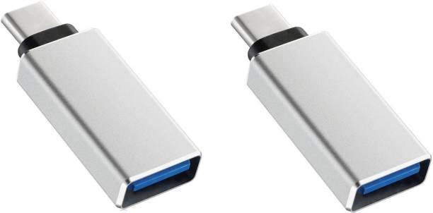 Statusbright Pack of 2 Elite Series USB Type C OTG Adapter USB Adapter