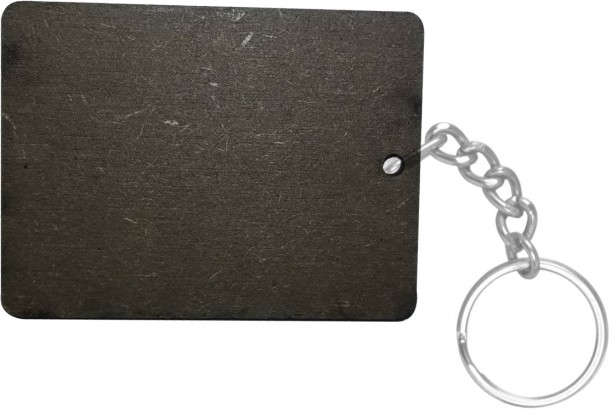 S Customized Ractangle Photo Keyring Key Chain