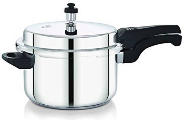 8c927bd2923 Diamond 1.5 Ltr Stainless Steel Induction Compatible with Sandwich Bottom  1.5 Pressure Cooker with Induction Bottom