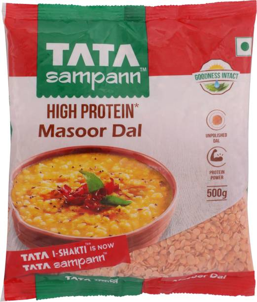 Tata Sampann Red Masoor Dal (Split)