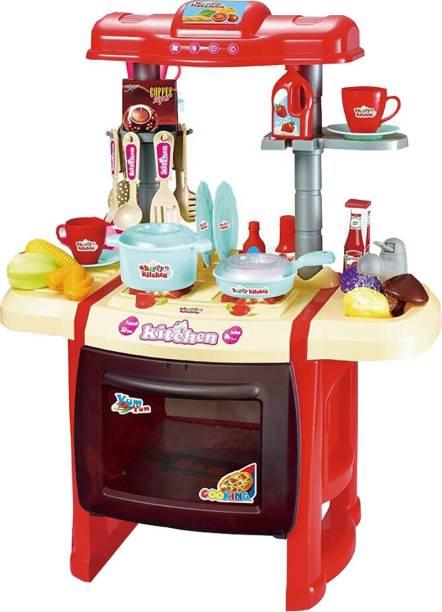 Webby Kitchen Set Kids Luxury Battery Operated Super Toy
