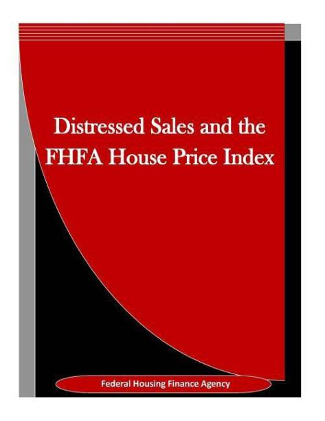 Distressed Sales and the Fhfa House Price Index