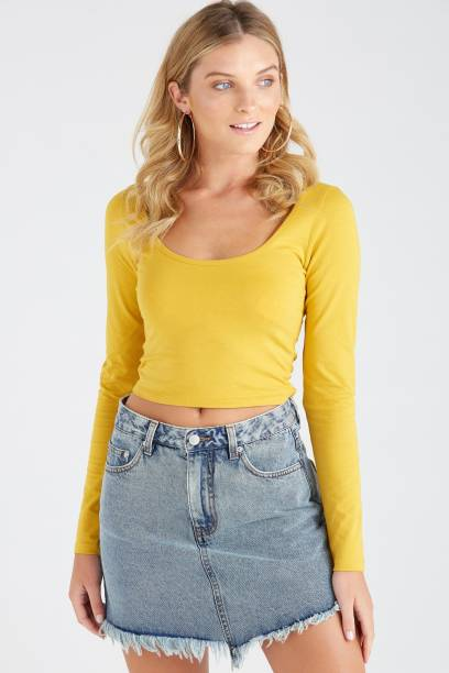 cbf1dfb788ede8 Crop Tops - Buy Crop Tops Online at Best Prices In India