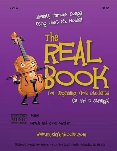 The Real Book for Beginning Viola Students (G and D Strings)