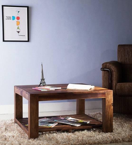 Balaji Wooden Sheesham Wood Solid Wood Coffee Table