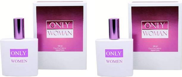 RAMCO Only Women Combo Perfumes 100ML+100ML Eau de Parfum  -  200 ml