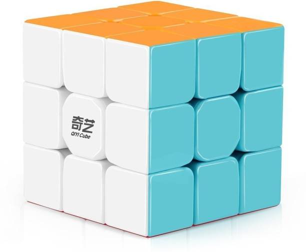 QIYI Warrior W 3x3 High Speed Cube Stickerless Magic Cube Puzzles