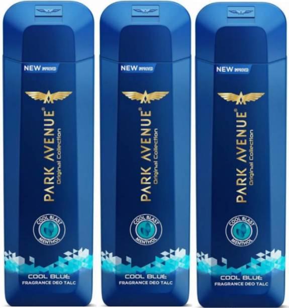 PARK AVENUE 3 Cool Blue Talc