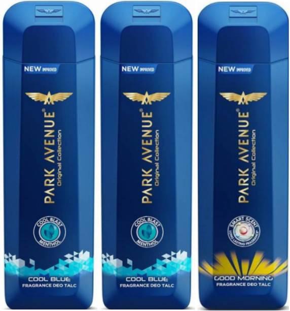 PARK AVENUE 2 Cool Blue & 1 Good Morning Talc