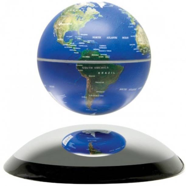 Globes buy globes online at best prices in india flipkart shrih magnetic levitation floating globe levitate mid air world map with led novelty magnetic levitation floating gumiabroncs Gallery