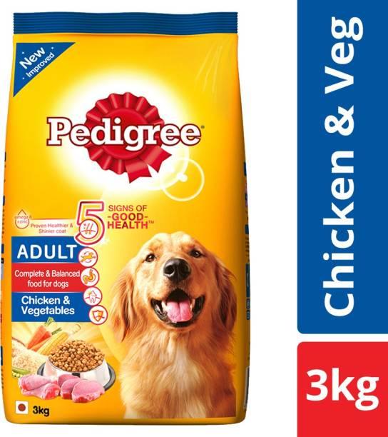 PEDIGREE Adult Chicken, Vegetable 3 kg Dry Adult Dog Food