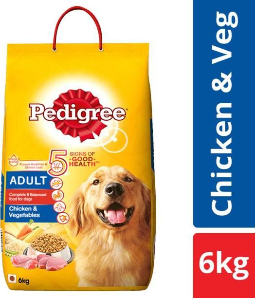 PEDIGREE Adult Chicken, Vegetable 6 kg Dry Adult Dog Food