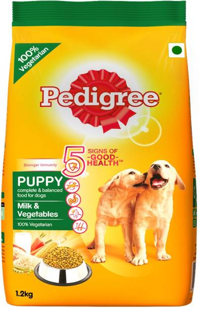 PEDIGREE Puppy Milk, Vegetable 1.2 kg Dry Young, New Born Dog Food