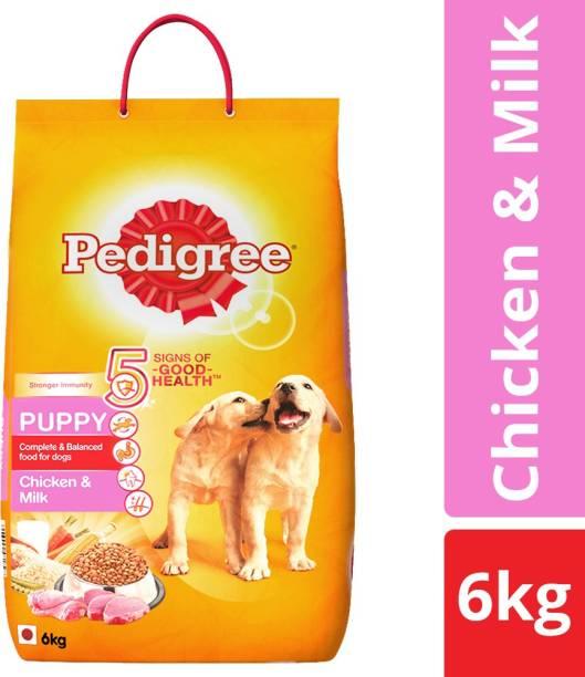 PEDIGREE Puppy Milk, Chicken 6 kg Dry New Born Dog Food