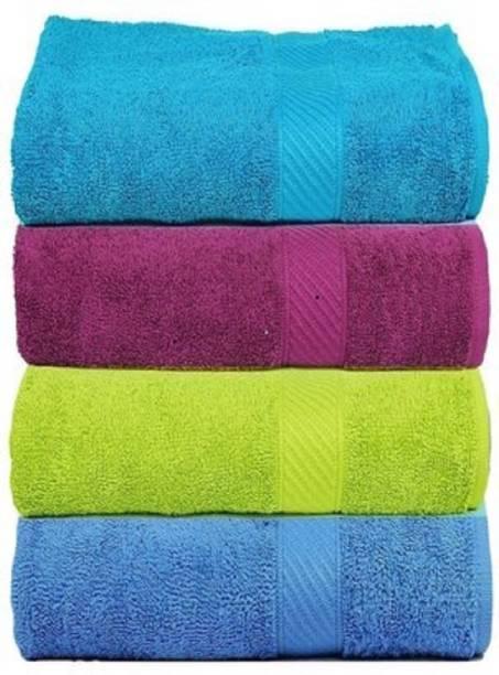 TRIDENT Cotton 400 GSM Hand Towel Set