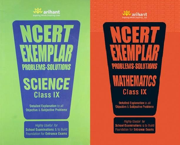 NCERT Exemplar Problems-Solutions SCIENCE And MATHEMATICS class 9 ( Set Of 2 Books )