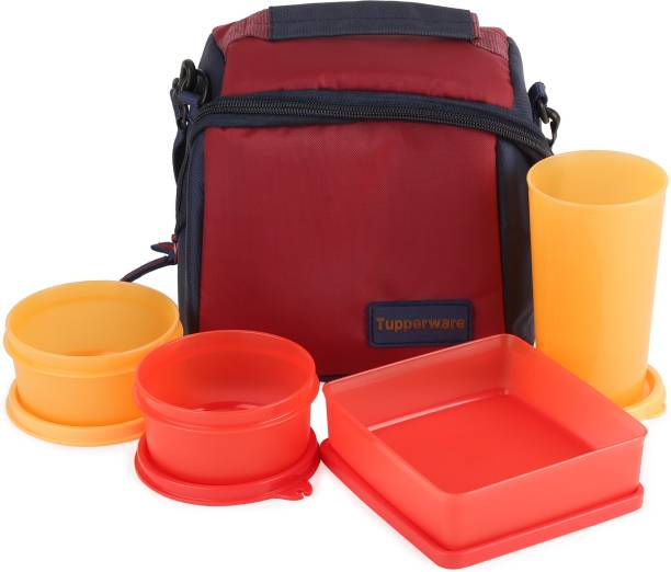 Tupperware premier lunch 4 Containers Lunch Box