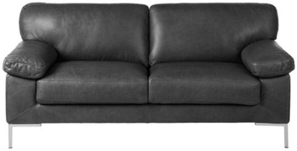 Delicieux Furny NA Leather 2 Seater Sofa