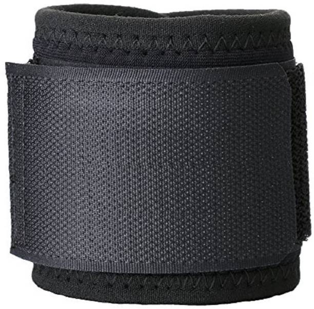 e14016acd6 QUINERGYS Grip Power Deluxe Wrist Wraps (1 Pair/2 Wraps) for WEIGHT LIFTING