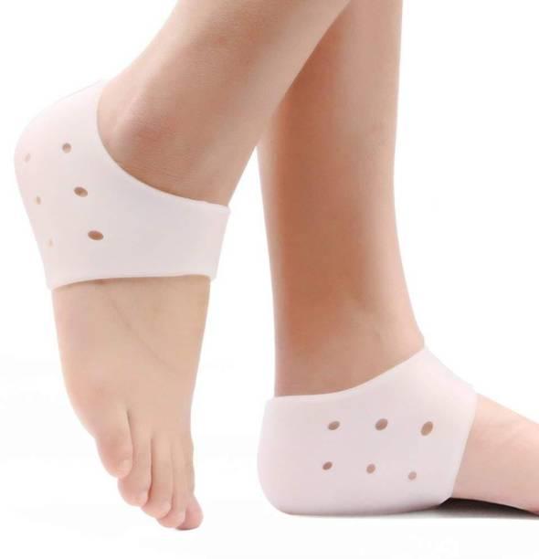 0e266c1ac6 QUINERGYS Comfort Gear Gel Heel Sleeve - Shock absorption, Heel Spur,  Callous Softener,