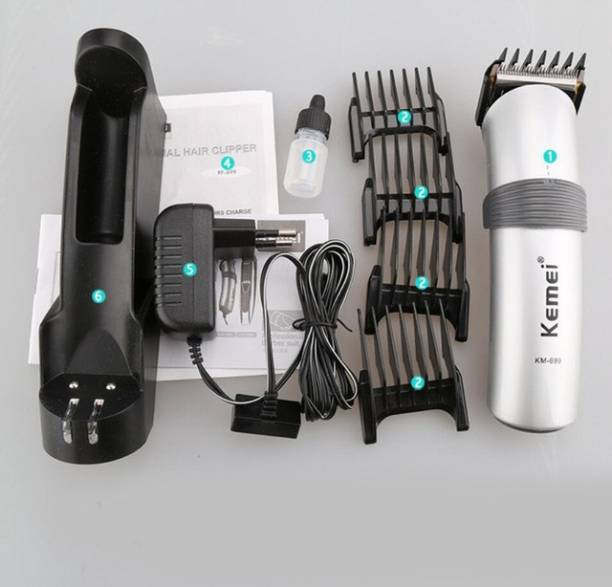 Kemei KM-699 Professional Rechargeable Hair Clipper K-54  Runtime: 60 min Trimmer for Men