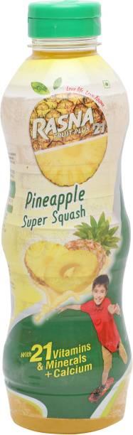 Rasna Fruit Plus 21 Pineapple Super Squash