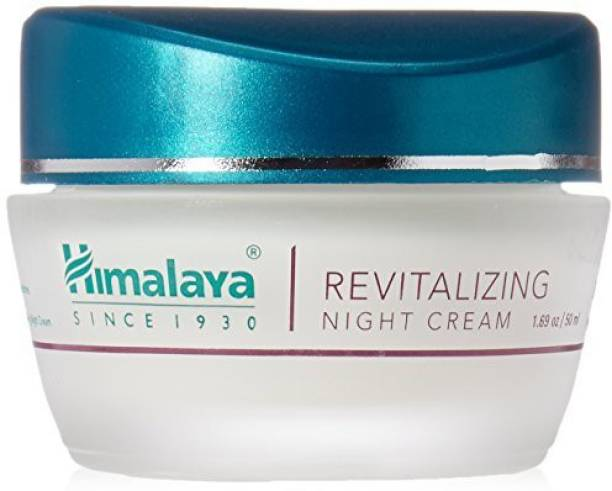 Himalaya Herbals Revitalizing Night Cream Restores And Rejuvenates AlcoholFree