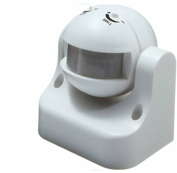 GreenRabbit PIR Motion Sensor With Light Sensor Power Saving Switch Wall Mount 180 Degree Wireless Sensor Security System