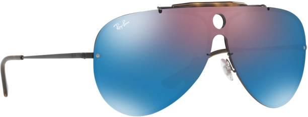 73dff25161b Ray Ban Aviator Blue Sunglasses - Buy Ray Ban Aviator Blue ...