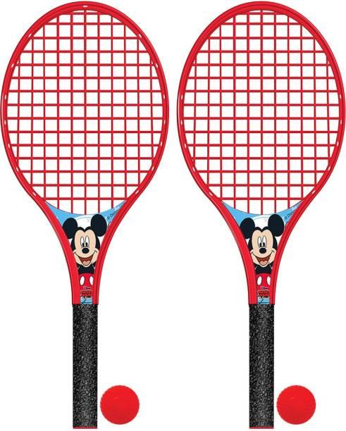 DISNEY Mickey & Friends Big Beach Racket Set Badminton Kit