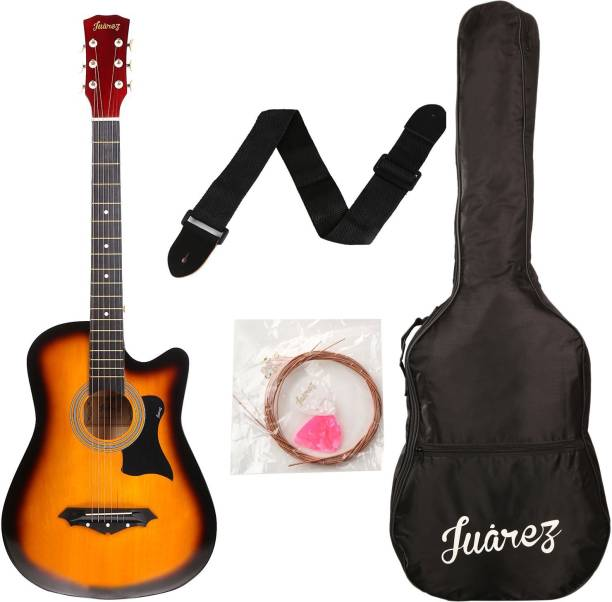 "Juarez JRZ38/3TS Acoustic 38"" Linden Wood Acoustic Guitar"