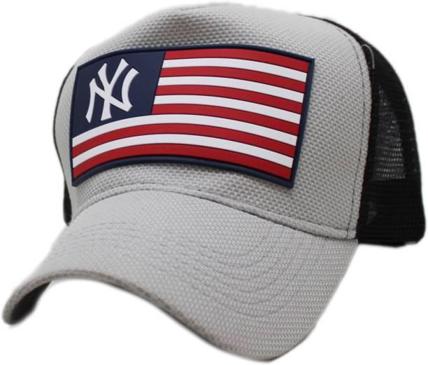 0a261e16b6c Friendskart NY baseball cap summer mesh hats black adult unisex casual baseball  caps adjustable cap snapback